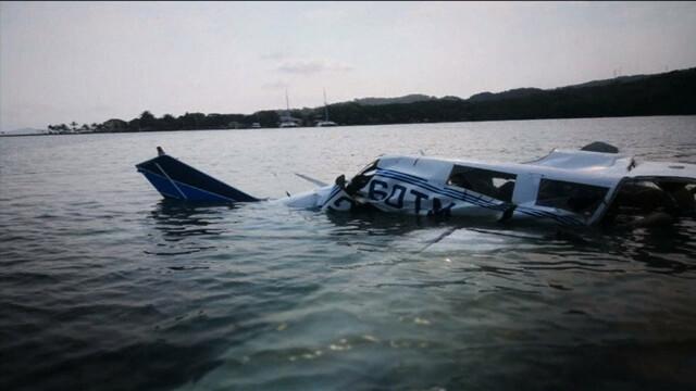 Samolot runął do morza zaraz po starcie. Pięciu turystów nie żyje