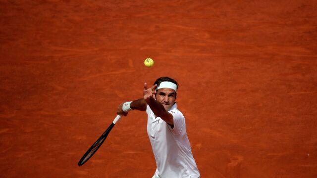 Nawet dwa mecze jednego dnia. Federer i reszta mająpełne ręce roboty w Rzymie