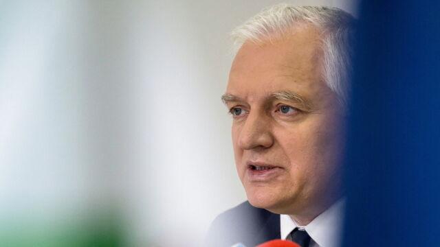 Gowin: rząd być może dziś rozpatrzy projekt dotyczący zaostrzenia kary za czyny pedofilskie