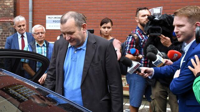 Stanisław Gawłowski wyszedł z aresztu