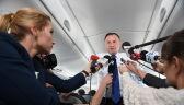 Prezydent Andrzej Duda o pierwszym prezesie Sądu Najwyższego