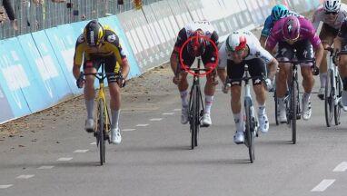 Finisz w Giro bez siodełka.