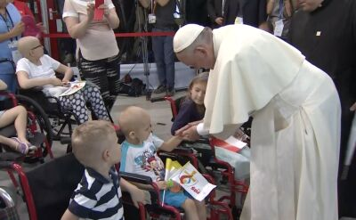 """""""Papież znalazł czas, by nad każdym się pomodlić"""""""