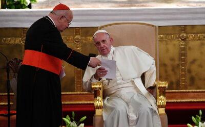 Biskup Pieronek o spotkaniu papieża Franciszka z polskimi biskupami