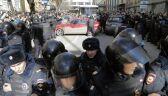 Zatrzymania po demonstarcji w Moskwie