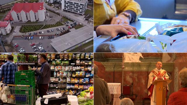 """""""Ksiądz też w niedziele chodzi na zakupy"""". Ruch w sklepach nasila się po mszy"""