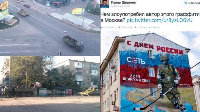 Na Ukrainę wjeżdżają z Rosji czołgi i artyleria. Pilna narada w Kijowie