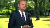 Donald Tusk: lada moment policja zatrzyma pirata drogowego