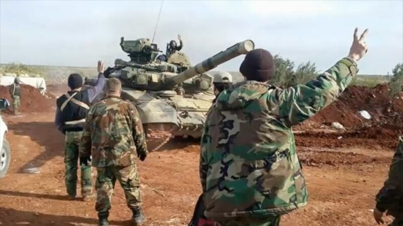 Rosyjskie czołgi T-90A w Syrii