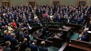 Sejm potępia