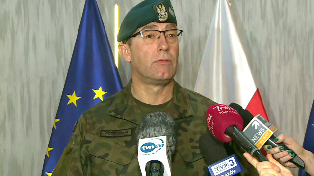 Pytania o ewakuację polskich żołnierzy. Generał Piotrowski: nie jest w tej chwili rozważana