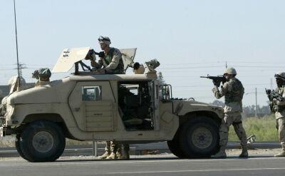 Amerykańscy żołnierze podczas przygotowań