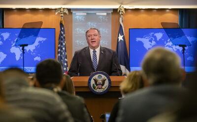 Pompeo: nasza polityka wobec Iranu polega na ochronie ojczyzny