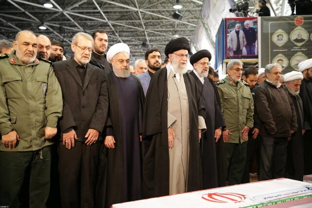 Przywódcy Iranu Ali Chamenei i Hasan Rowhani o ataku na bazy w Iraku