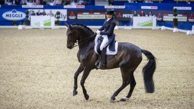 Koń mistrzyni olimpijskiej zmarł w trakcie dekoracji wręczenia nagród