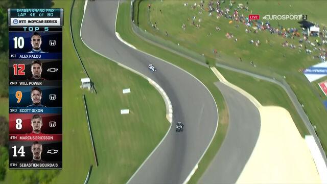 Palou na prowadzeniu po połowie rywalizacji w Grand Prix Alabamy