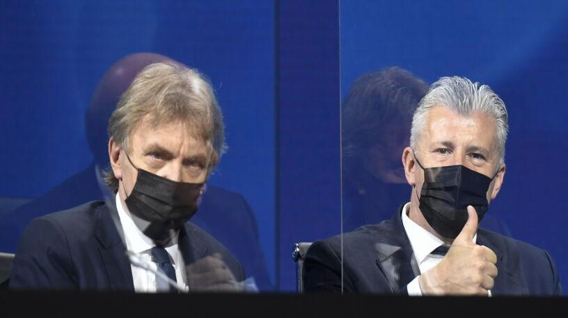 Boniek wiceprezydentem UEFA