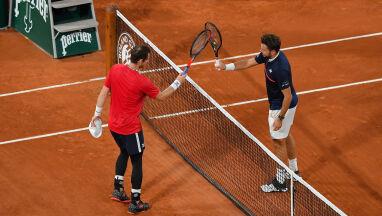 Loby, skróty, woleje i cudowna wymiana pod siatką. Najlepsze zagrania pierwszego dnia Roland Garros