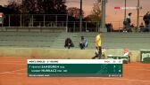 Strata odrobiona. Hurkacz wygrał 2. seta w starciu z Sandgrenem w 1. rundzie Roland Garros