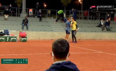 Hurkacz przegrał z Sandgrenem w 1. rundzie Roland Garros