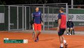 Porażka Hurkacza i Evansa w 2. rundzie gry podwójnej mężczyzn w Roland Garros