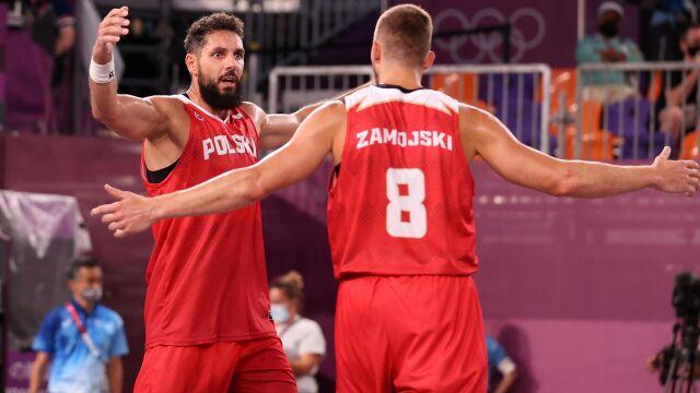 Zacięty mecz i wygrana Polaków na początek mistrzostw Europy w koszykówce 3x3