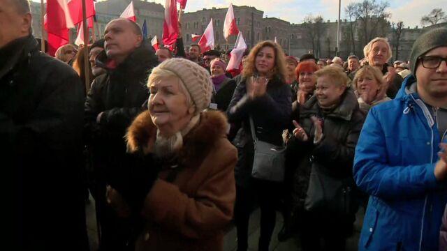 Demonstracje w całym kraju. Relacja z Łodzi