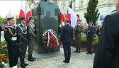 Prezydent Andrzej Duda złożył wieniec pod pomnikiem Józefa Piłsudskiego