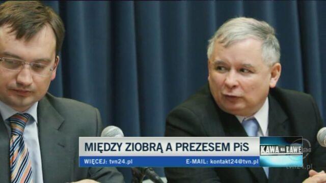 Kwiatkowski: Kaczyński z Ziobrą jak Adamek z Kliczką (TVN24)