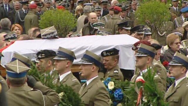Pożegnanie gen. Franciszka Gągora