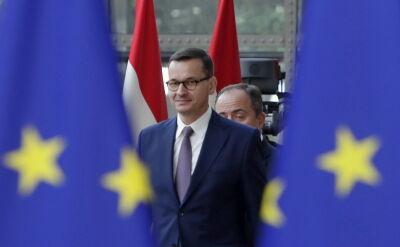 Premier Mateusz Morawiecki przybył do Brukseli na szczyt Unii Europejskiej