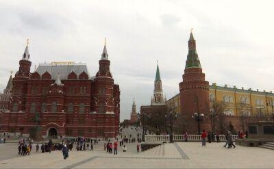 Kreml i siedziba Ministerstwa Spraw Zagranicznych Rosji