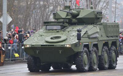 Pojazdy opancerzone Boxer produkowane są w różnych konfiguracjach