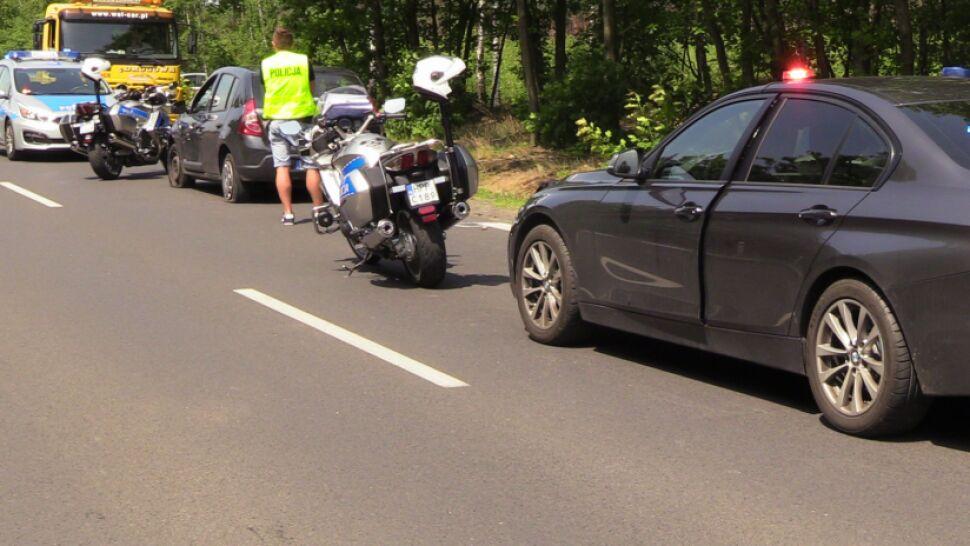 """""""Piłem, ale wczoraj. Nie chciałem przejechać policjanta, ani zepchnąć z drogi policyjnego motocykla"""""""