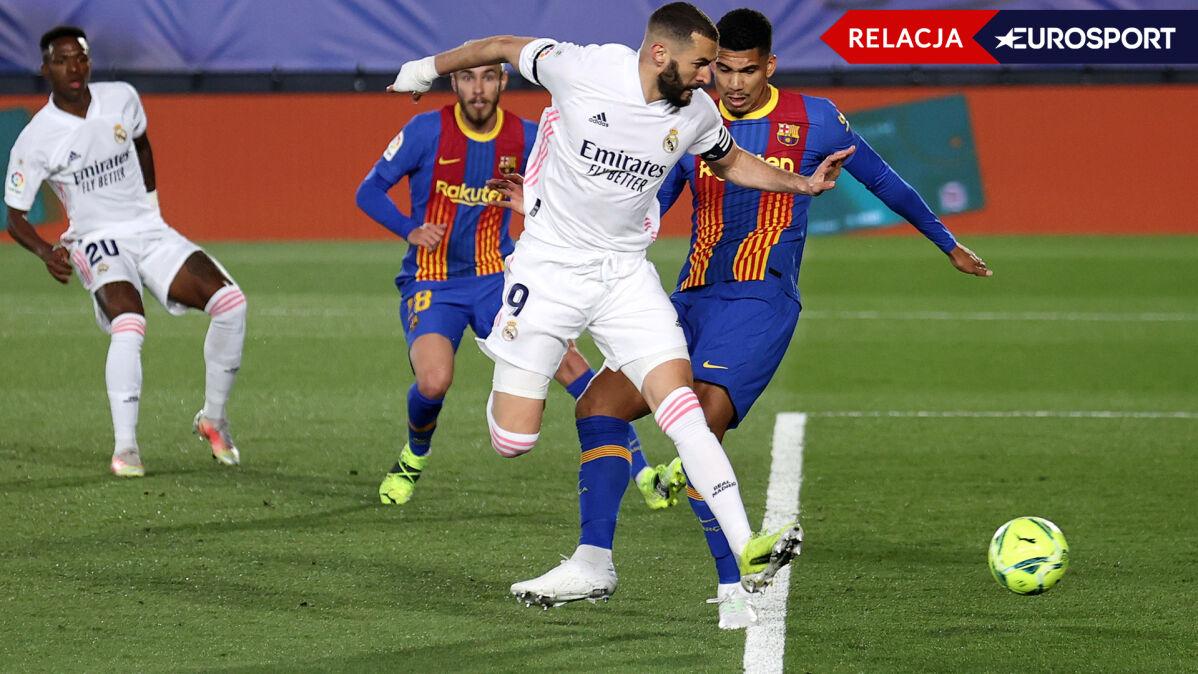 Cudowna piętka, potem gol z wolnego. Real rządzi w El Clasico