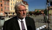 Waszczykowski: kwestia wraku tupolewa zostanie podniesiona