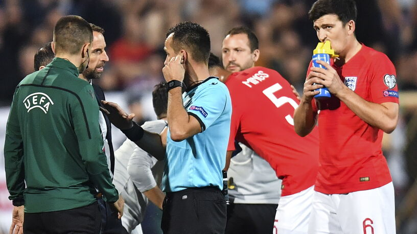 """Szef FIFA nawołuje do walki z rasizmem.  """"Mecz w Sofii powinien zostać przerwany"""""""