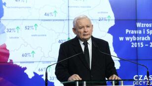 Kaczyński o Senacie  i wojnie w polityce