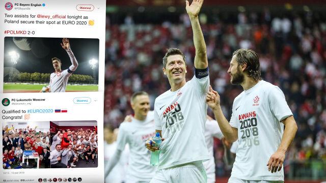 """Bayern gratuluje """"Lewemu"""", Juve pamięta o Szczęsnym. Wielkie kluby chwalą się kadrowiczami"""