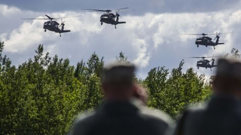 """Litwa wybrała amerykańskie śmigłowce. """"Żywotność Mi-8 wkrótce dobiegnie końca"""""""