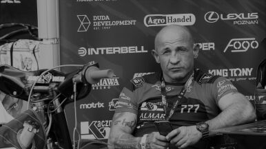 Nie żyje Tomasz Skrzypek. Trener Fogo Unii Leszno miał 52 lata