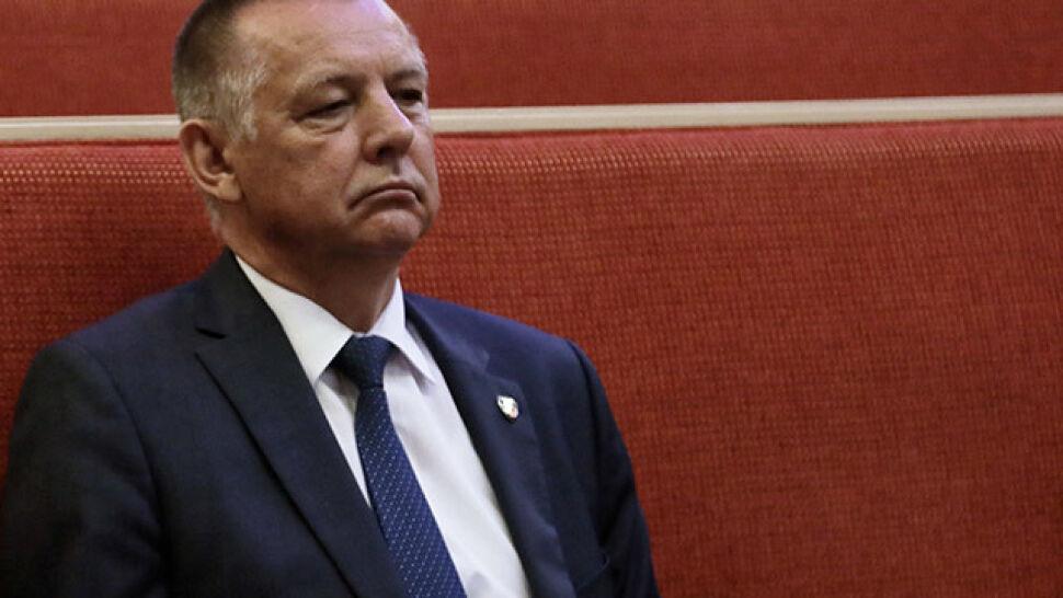 Nitras: rezygnacja Banasia leży na biurku marszałek Sejmu. Witek zaprzecza