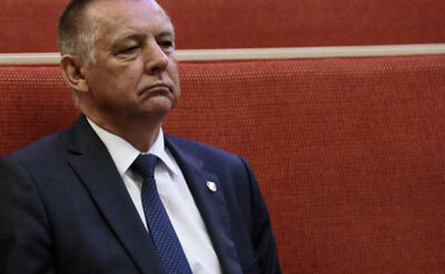 PO-KO: rezygnacja Mariana Banasia leży na biurku marszałek Sejmu