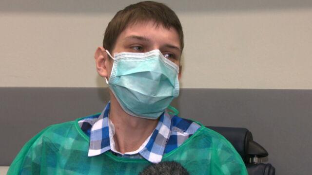 Dawali mu 70 procent szans na przeżycie operacji. Bał się, miał być pierwszy w Polsce