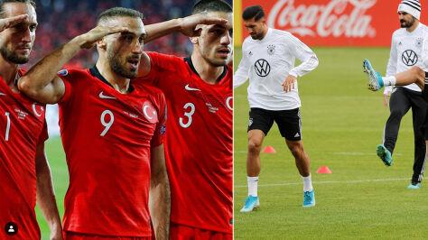 Reprezentanci Niemiec musieli się tłumaczyć. Polubili zdjęcie salutujących tureckich piłkarzy