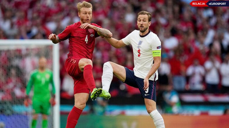 Anglia - Dania w półfinale Euro 2020 (RELACJA)