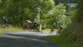 Kraksa Woodsa na 14. etapie Tour de France