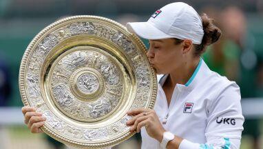 Emocje targały zwyciężczynią Wimbledonu.