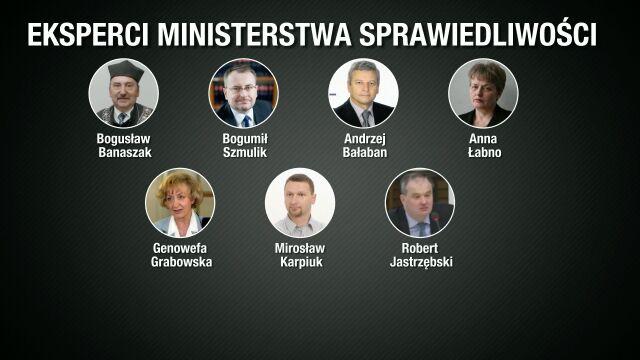 Eksperci ministra Ziobry. Zdziwieni