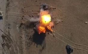 Atak drona dżihadystów w Iraku